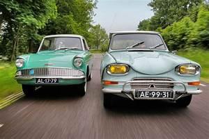Citroën Ami 6 : classics citro n ami 6 vs ford anglia 105e youtube ~ Medecine-chirurgie-esthetiques.com Avis de Voitures