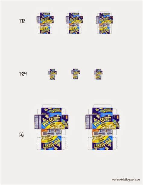 dollhouse miniature template maria s minis free printable miniature popcorn box
