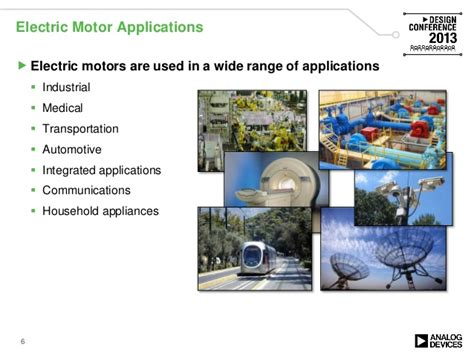 Application Of Electric Motor by Motor Ve2013