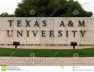 Texas A&M University editorial stock image. Image of texas ...