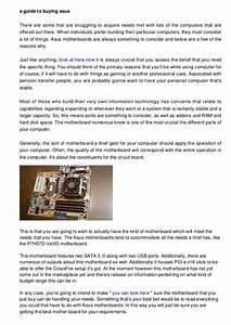 Helpful information for Buying Asus Motherboards