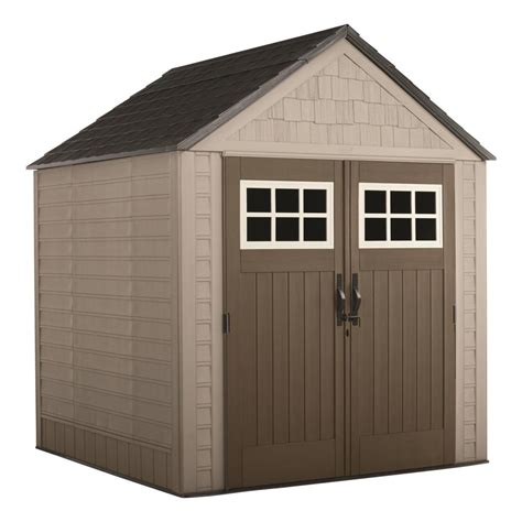 shed rubbermaid rubbermaid big max 7 ft x 7 ft storage shed 2035892