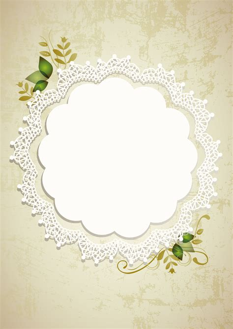 vintage wedding poster retro wedding lace background