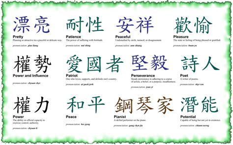 tattoos chines symbol tattoos  kanji symbol tattoos