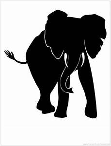 African Elephant Silhouette | wildlife | Pinterest ...