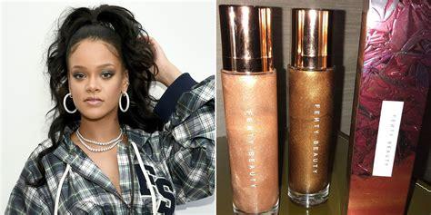 Rihanna Teases New Fenty Beauty Body Lava On Instagram