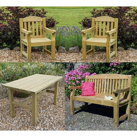 heavy duty garden furniture set