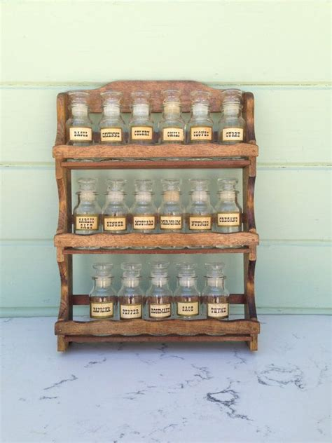 Spice Rack And Bottles by 134 Best Images About Vintage Spice Racks On