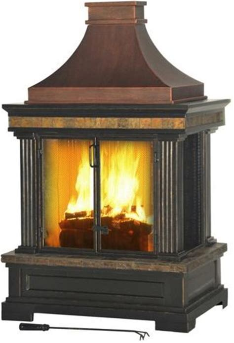 Sunjoy Industries Recalls Outdoor Wood Burning Fireplaces
