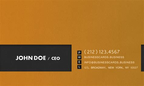 End Card Template High End Business Card Template Business Cards Templates