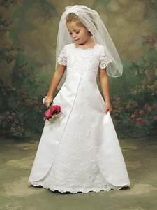 flower girl looks like mini bride With mini wedding dress for flower girl