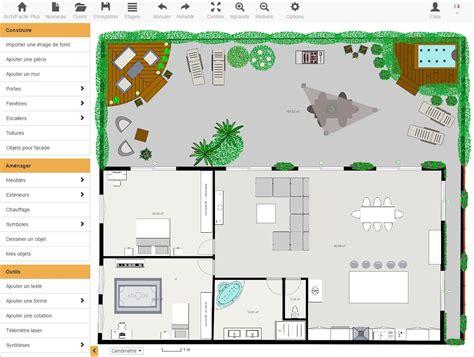 terme technique de cuisine plan maison gratuit avec archifacile dessinez vos plans