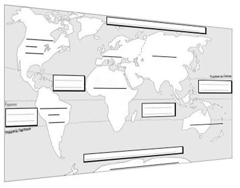 Carte Du Monde Vide A Completer by Planisph 232 Re 224 Compl 233 Ter Zoutils Ek La