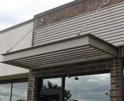 metal awnings windows aspen roofing garden sombras pinterest sun metals window