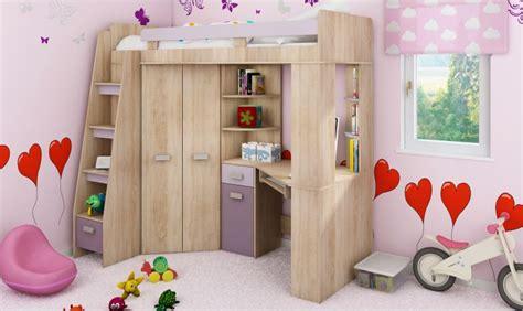 lit bureau armoire combiné lit en hauteur combin avec bureau armoire et rangement intgr