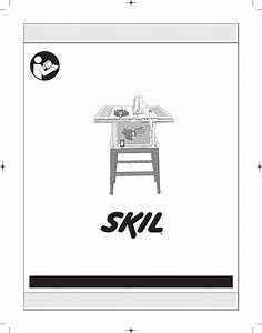 Skil 3310 User U0026 39 S Manual