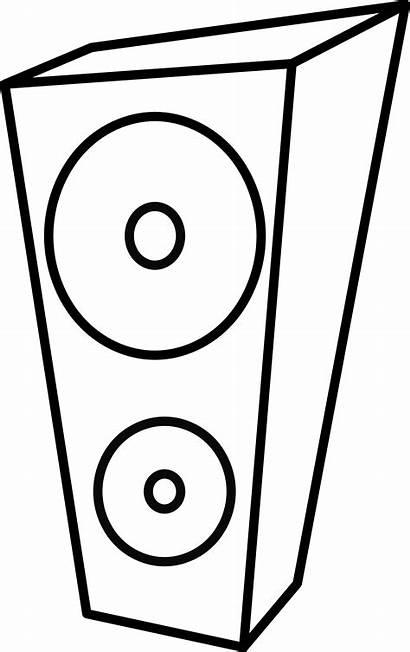 Speaker Clipart Speakers Cliparts Computer Loudspeaker Clip