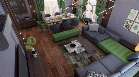 ideas  zone   living  dining area