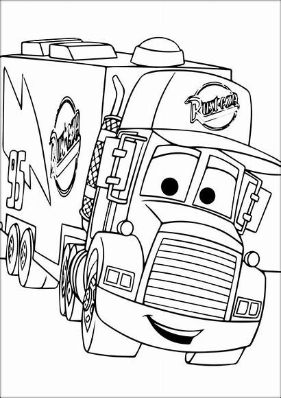 Coloring Pages Mcqueen Lightning Mater Cars Disney