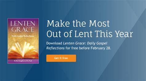 Make The Most Out Of Lent With This Free Book Verbum Blog