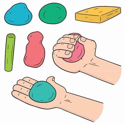 Playdough Clipart Clay Dough Play Kid Vectorreeks