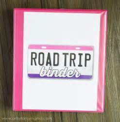 Road Trip Binder Cover Printable