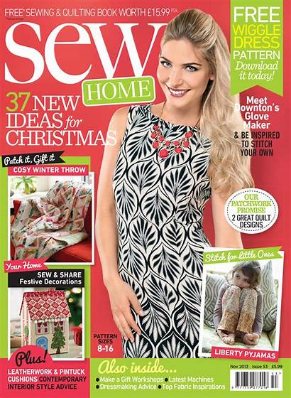 Sew Templates Magazine November Sewmag Issue