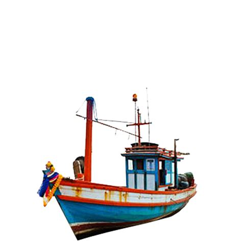 Boat Cartoon Transparent by Cartoon Fishing Boat Png