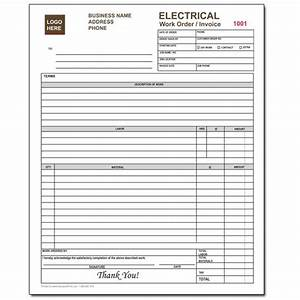 electrical invoice forms charla With custom carbonless invoice forms
