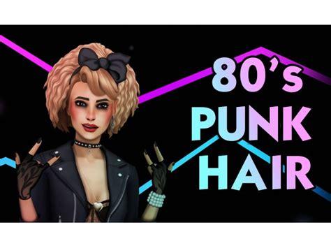 stuff punk hair  sims   simsdomination