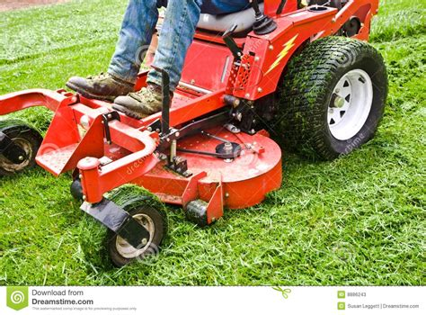 Lawn Care/ Riding Mower/ Grass Stock Photos