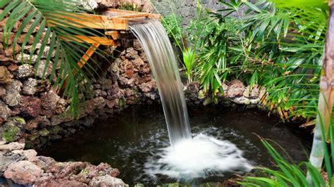faire une cascade en pierres bassin fontaine cascade de jardin choisir 233 quipement
