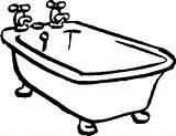 Bathtub Drawing Coloring Tub Bath Clawfoot Printable Pages Drawings Clip Getdrawings Curious George Vector Fun Clipartmag Getcolorings sketch template