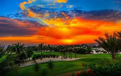 Desktop Golf Sunset Tennis Heights Backgrounds Katameya