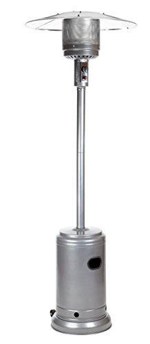 amazonbasics slate grey commercial patio heater