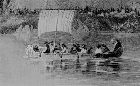 Canoes Used In The Fur Trade by 352 Best Images About Canada Exploration Fur Trade On