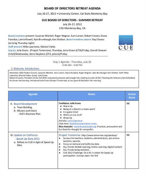 nonprofit agenda examples sample   examples