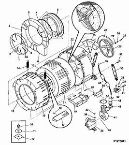 34 Ge Front Load Washer Parts Diagram