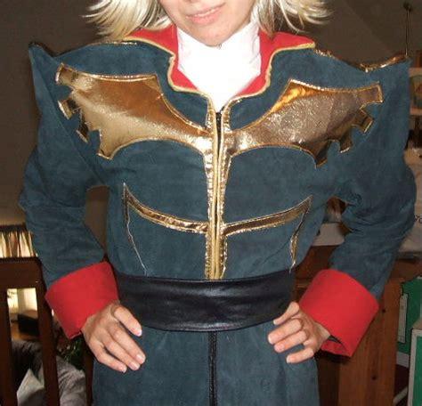 gundams zeon officer costume cosplay