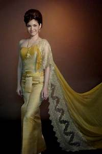 Thai wedding dresses for Thai traditional wedding dress