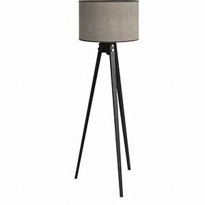 trinite floor lamp charcoal color floor lamp shade linen With floor lamp shade frames