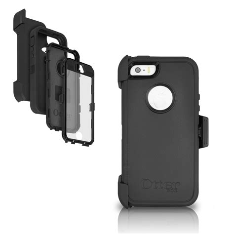 iphone 5s cases with clip otterbox iphone 5s 5 defender holster black cover w