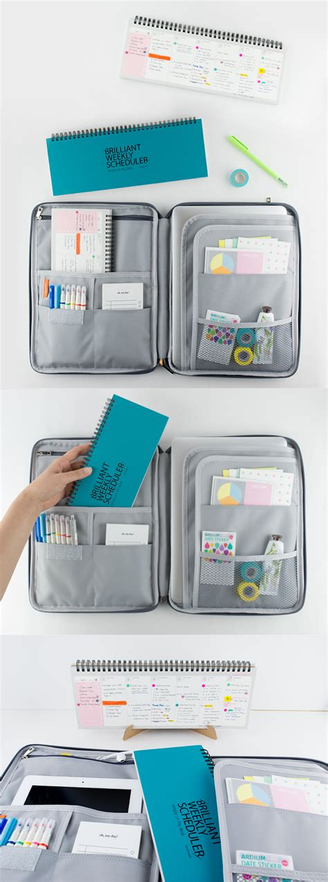 Office Supplies To Make Easier by What S Brilliant This Organization Tool Set That Includes
