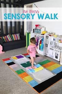 No Mess Sensory Walk