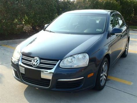 Find Used 2006 Volkswagen Jetta 2.5 Sedan 4-door 2.5l In