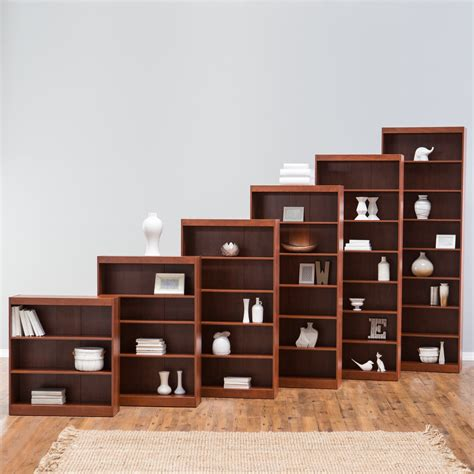 3 Foot Wide Bookcase by Remmington Heavy Duty Bookcase Cherry Bookcases At