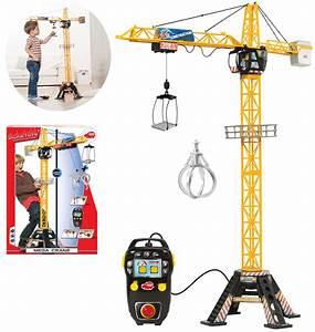 Rasenmäher Mit Fernbedienung : dickie spielzeug kran mega crane mit fernbedienung ~ A.2002-acura-tl-radio.info Haus und Dekorationen