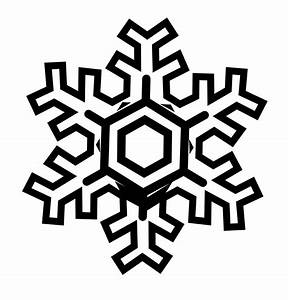 Snowflake Clipart Black And White | Clipart Panda - Free ...