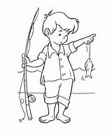 Fishing Coloring sketch template