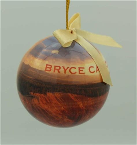 bryce canyon national park christmas ornament